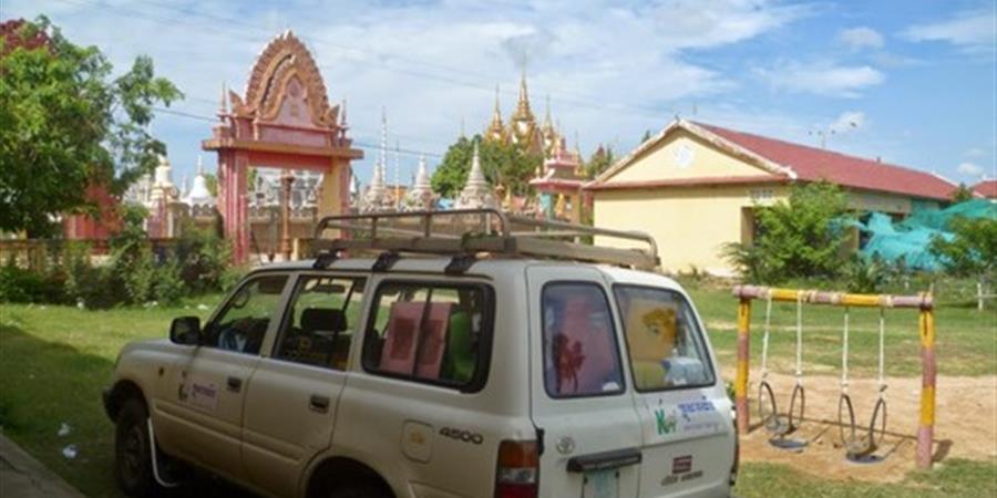 Opération : Une nouvelle ludomobile pour les enfants du Cambodge - Chemins d'Enfances