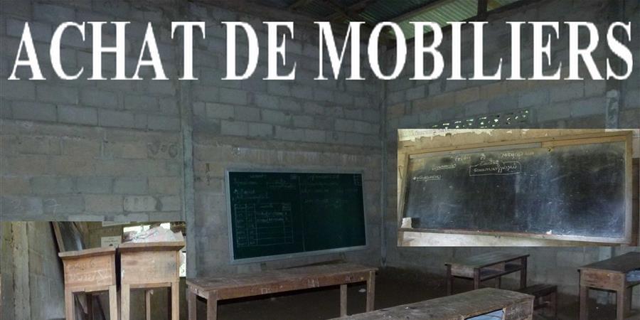 Mobilier pour une école du Laos - Enfants Lao, les Rizières de l'Espoir