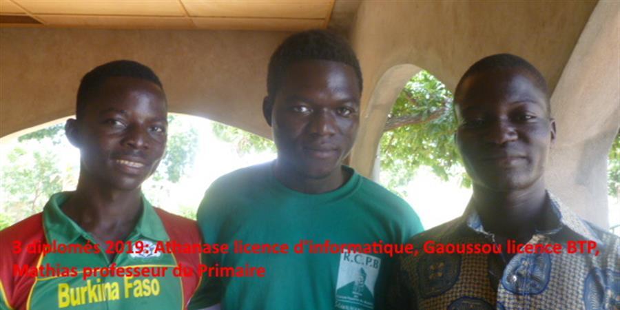 Financement des études de jeunes Burkinabè - espoir jeune burkinabe