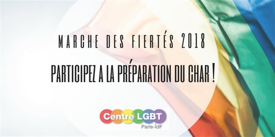 Cagnotte pour le char du Centre LGBT Paris-IDF 2018 - Centre LGBT Paris IDF