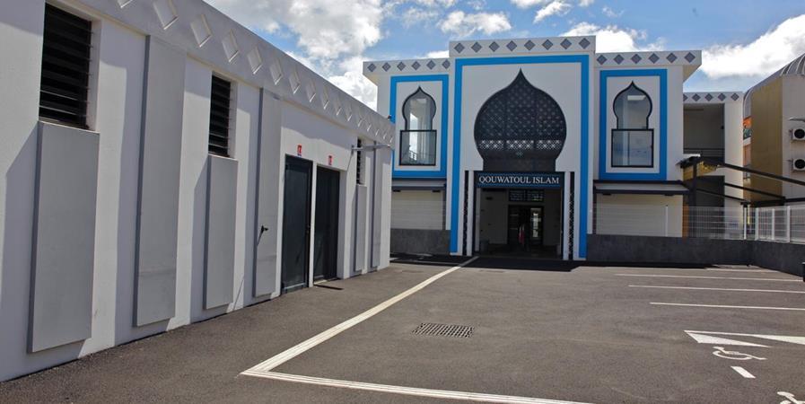 Construction de la mosquée de Ste Clotilde - AISD