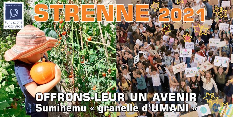 E strenne d'UMANI 2020-2021 - Association pour une Fondation de Corse