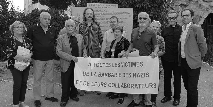 Collecte de soutien aux victimes de la rafle du Vieux-Port du 24 janvier 1943 - Collectif Saint-Jean 24 janvier 1943