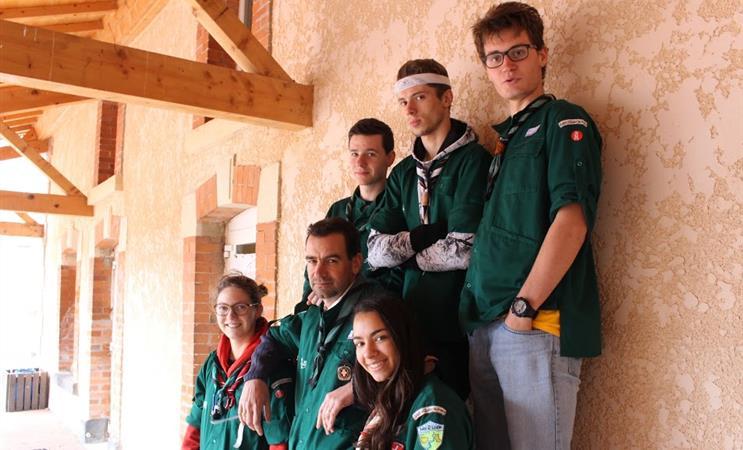 L'agriculture biologique en Lettonie, soutenue par des scouts en chemise verte - Equipe Compagnons - groupe SGDF St Chamond