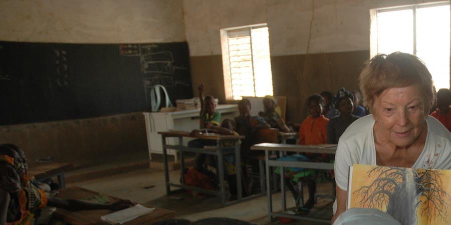 Burkina 2019 - Lecture Plaisir - ERAGNY Lecture