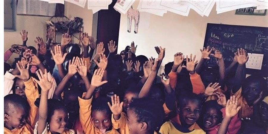 """construction de l'école maternelle/crèche """"les cigognes"""" - Association No Man's Land"""