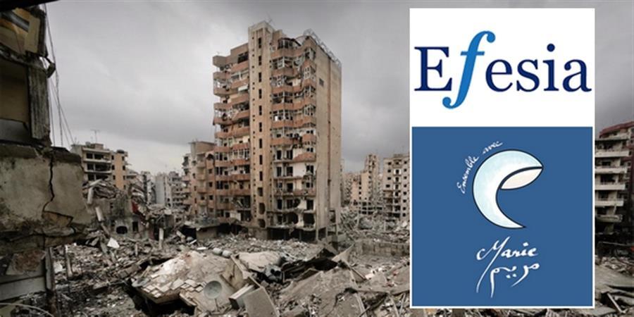 "SOS au Liban ""Ensemble avec Marie"" - EFESIA"