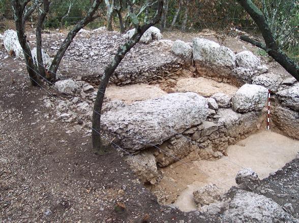 fouilles archéologiques de la ville médiévale de Massargues, Uzès, 2ème phase - Association L'Uzège