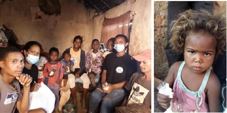 Urgence Covid-19 Madagascar : des kits alimentaires de survie pour 87 familles   - Antenna France