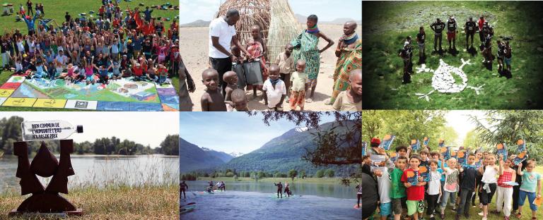 ADHÉRER pour financer plus de solidarité et d'actions concrètes pour la protection de l'eau  - DU FLOCON A LA VAGUE