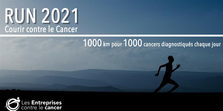 RUN 2021 - Courir contre le cancer - GEFLUC Paris - Île-de-France
