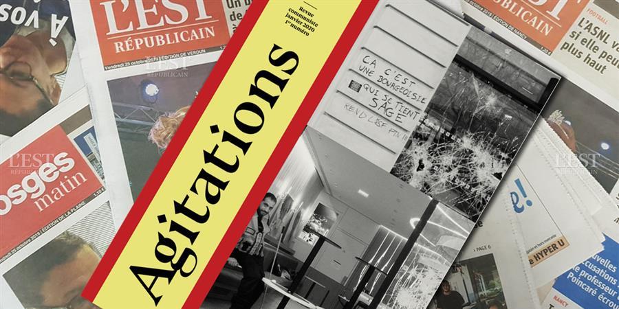 Agitations la revue, premier numéro - Agitations