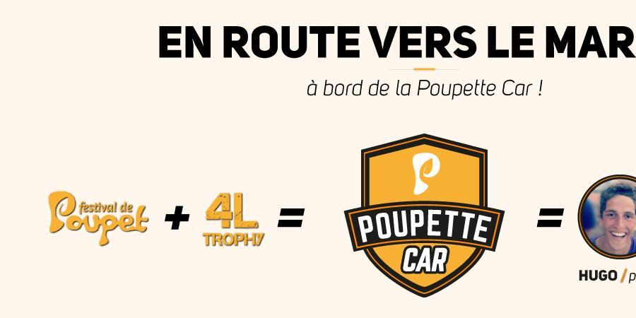 Poupette Car // 4L Trophy 2018 - 4L HAMON MEYER