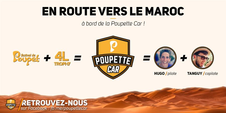 Poupette Car // 4L Trophy 2018 - 4L HAMON MEYER