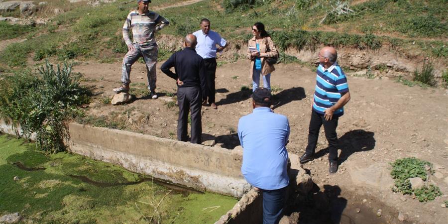 Préserver l'eau à Ain Gharbaoui - CARREFOUR DES CULTURES