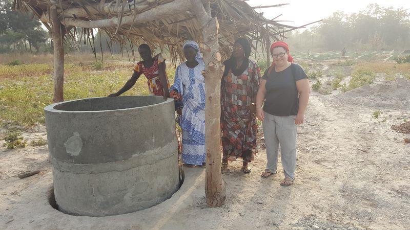 Construction de 3 puits à Thionck Essyl Casamance  - Vivre Debout en Casamance