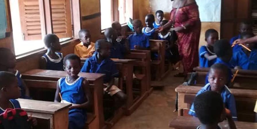 Projet scout de solidarité international au Ghana - Compagnon Scout de Colombes