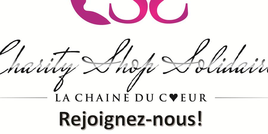 Devenez membre Charity Shop Solidaire - Charity Shop Solidaire