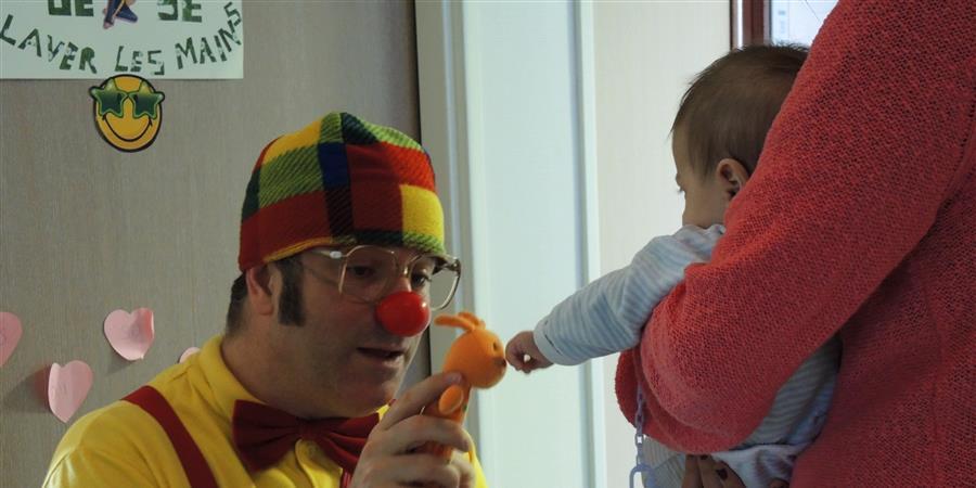 un sourire pour les enfants hospitalisés - Association Des Boules Aux Nez