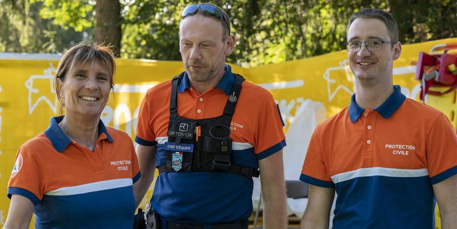 Le Rock'n Poche soutient la Protection civile de Haute-Savoie - ROCK'N POCHE FESTIVAL