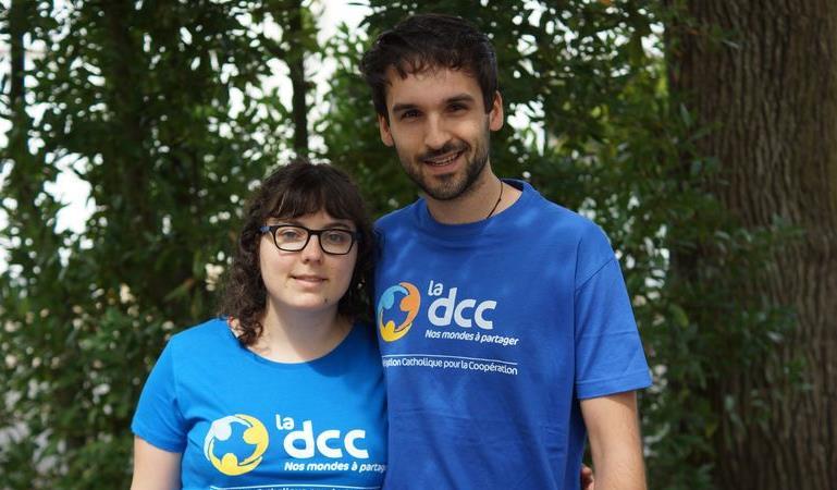 Camille et Paul, orthophoniste et pharmacien en Côte-d'Ivoire - Délégation Catholique pour la Coopération