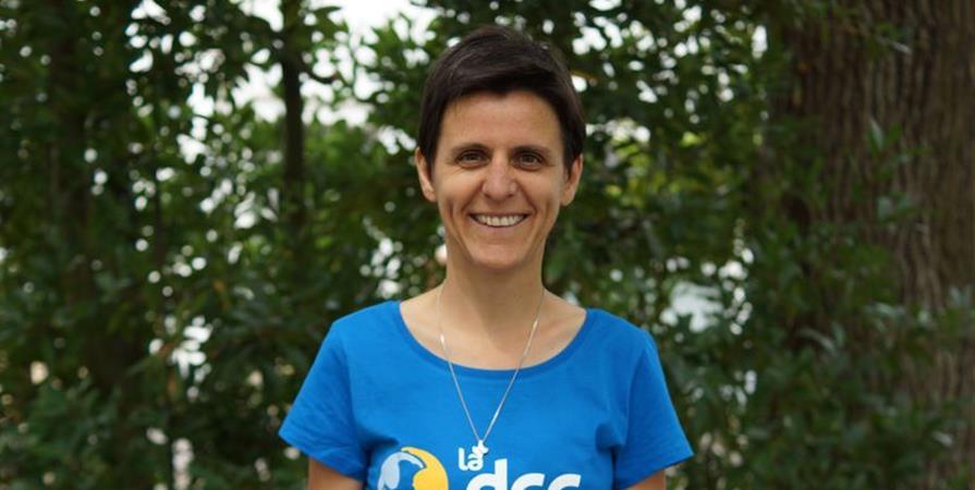 Aurélie, directrice de centre au Tchad - Délégation Catholique pour la Coopération