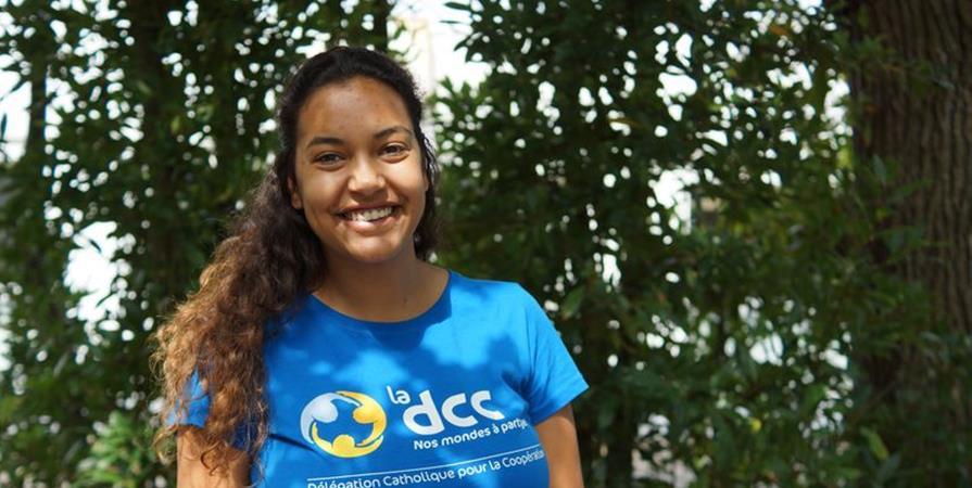 Amélie, coordinatrice pédagogique au Pérou - Délégation Catholique pour la Coopération