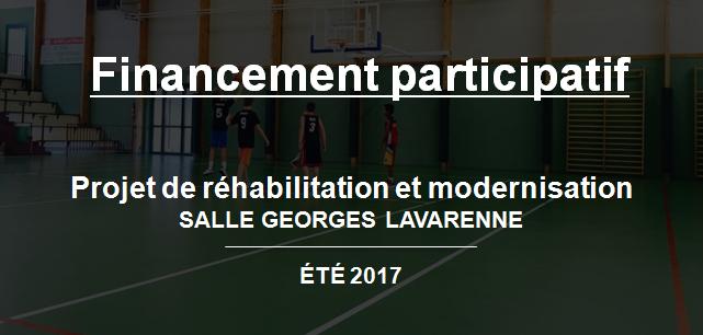 Réhabilitation et modernisation de la salle Georges Lavarenne - Beaujolais Basket