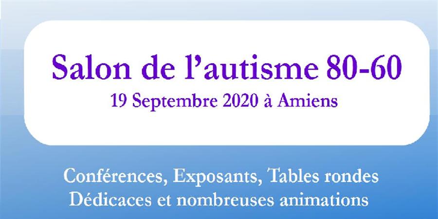 Salon de l'autisme 80-60 - AUTISME AMIENS