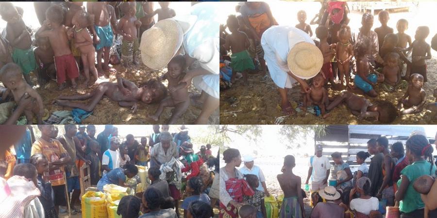 Sècheresse et famine à Madagascar - Urgence à nourrir les populations - Appel Détresse