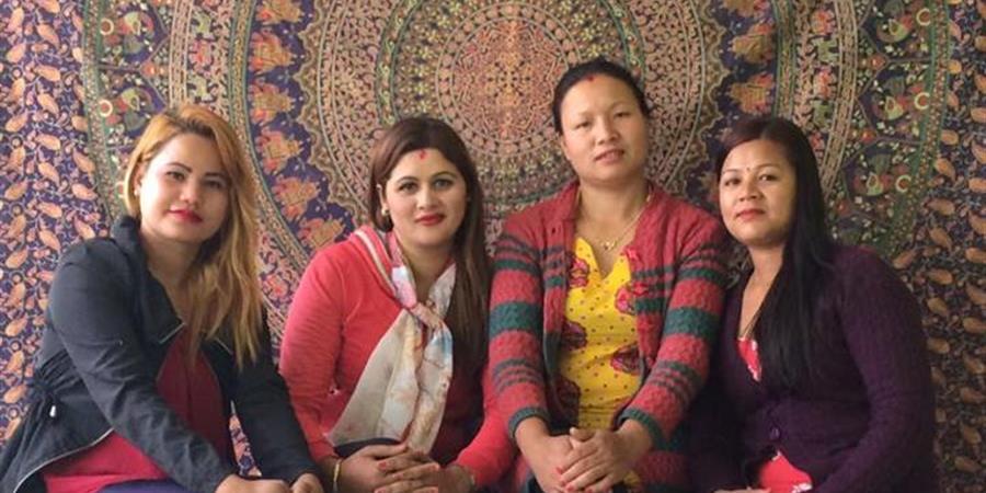 Atelier de couture Shanti au Népal - Planète Enfants & Développement