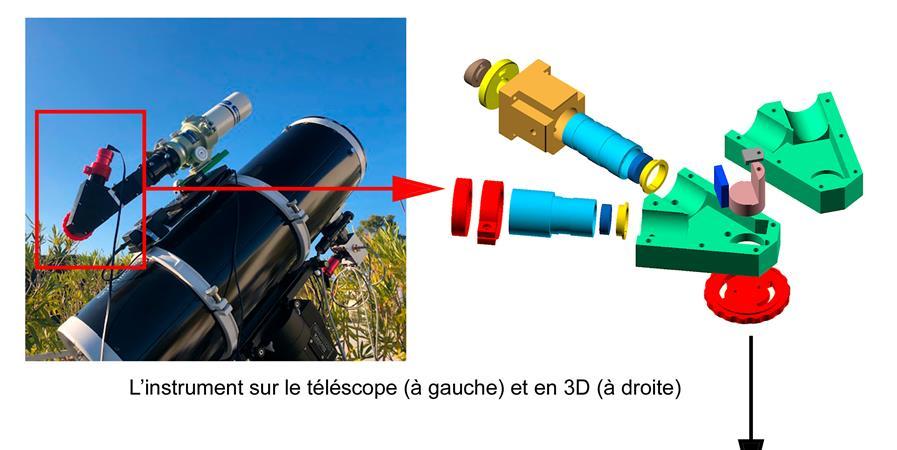 Projet SOL'EX pour le club astronomie - Maison des Lycéens du Lycée Lalande