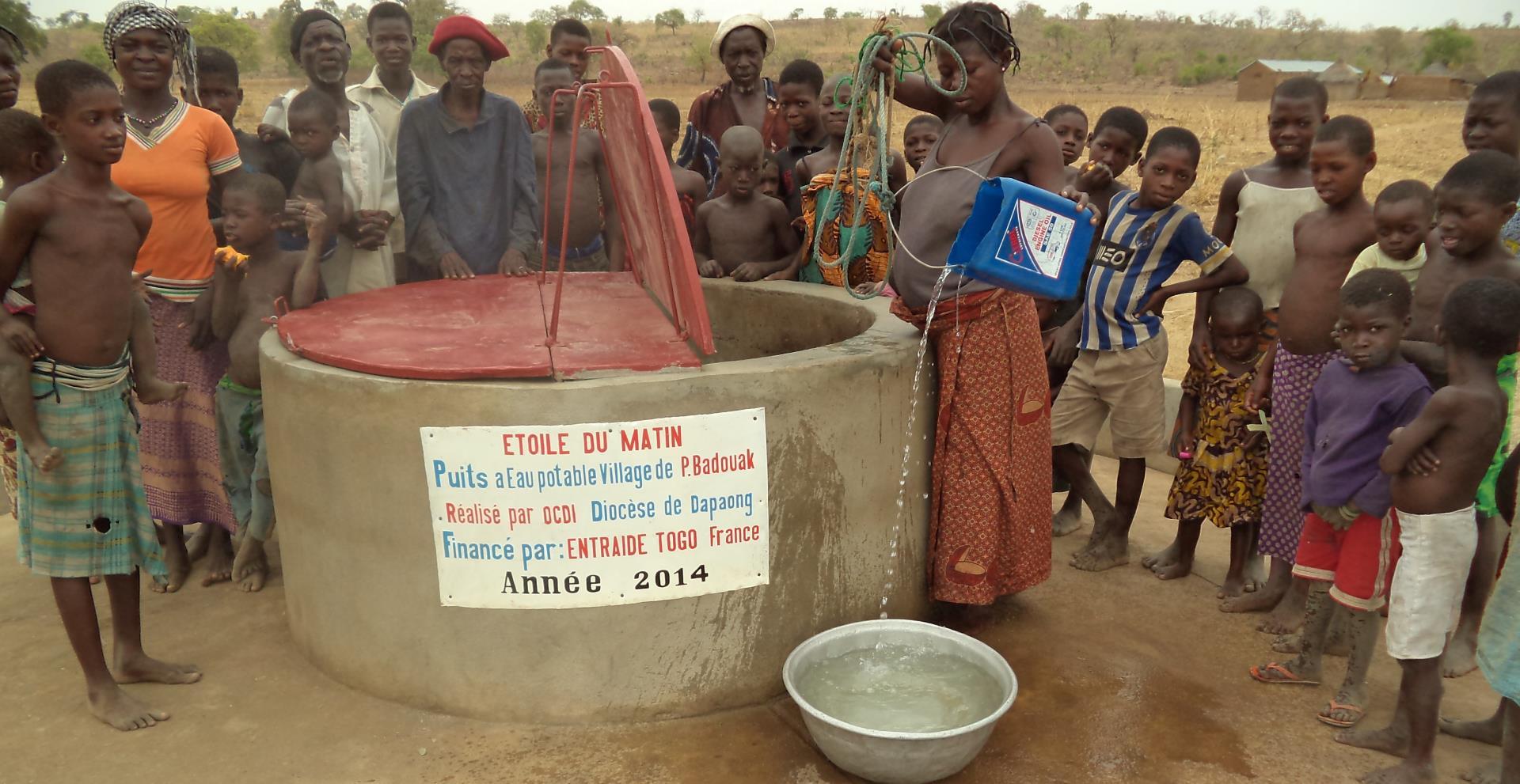 Soutenez le projet d'accès à l'eau potable dans le village de Kambélé (région des Savanes, Togo) - ENTRAIDE TOGO