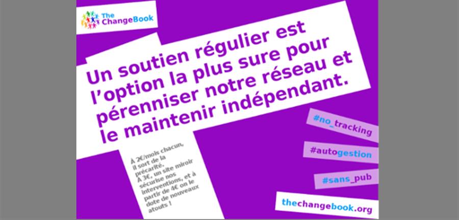 Soutenir TheChangeBook, réseau social alternatif et non marchand - TheChangeBook - Association Médialutte