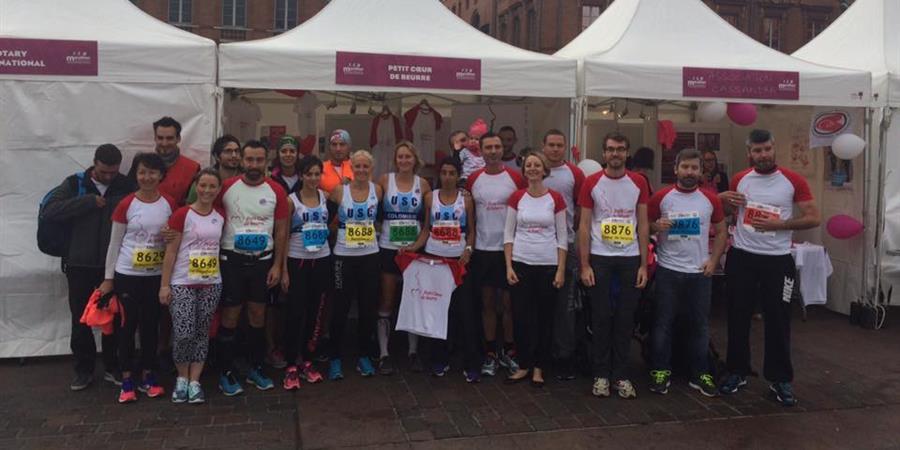 Marathon de Toulouse au profit du service de cardiopédiatrie du CHU Toulouse - PETIT COEUR DE BEURRE