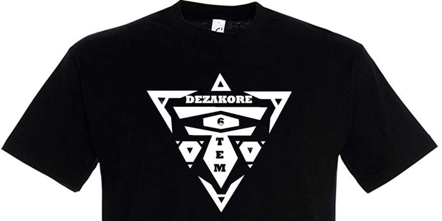 T shirt DeZaKore  - Mealespoirs