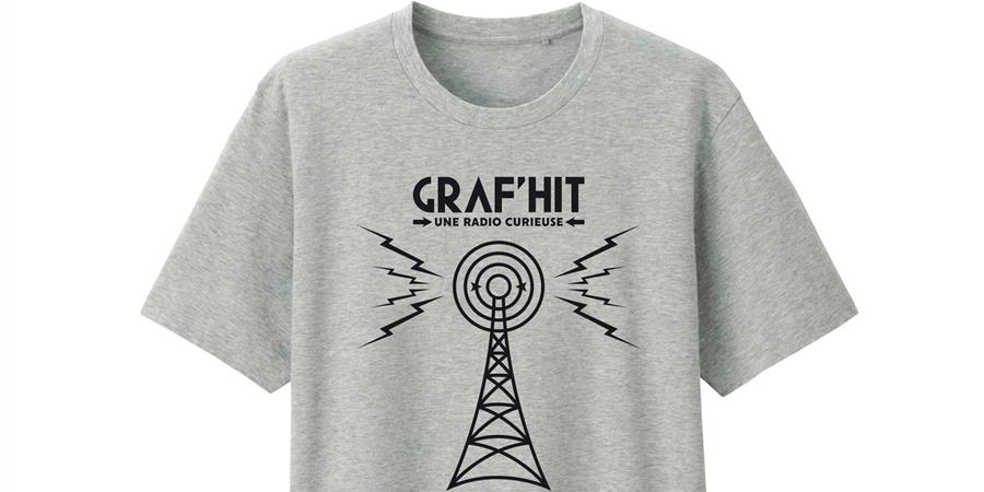 TSHIRT- GRAFHIT 2018 - RADIO GRAF'HIT