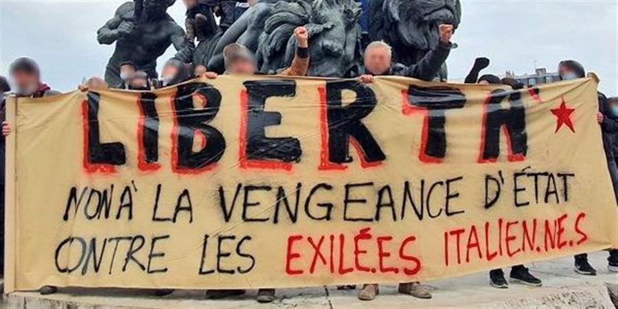 Non à l'extradition des exilé·e·s italien·ne·s - Collectives Solidarites