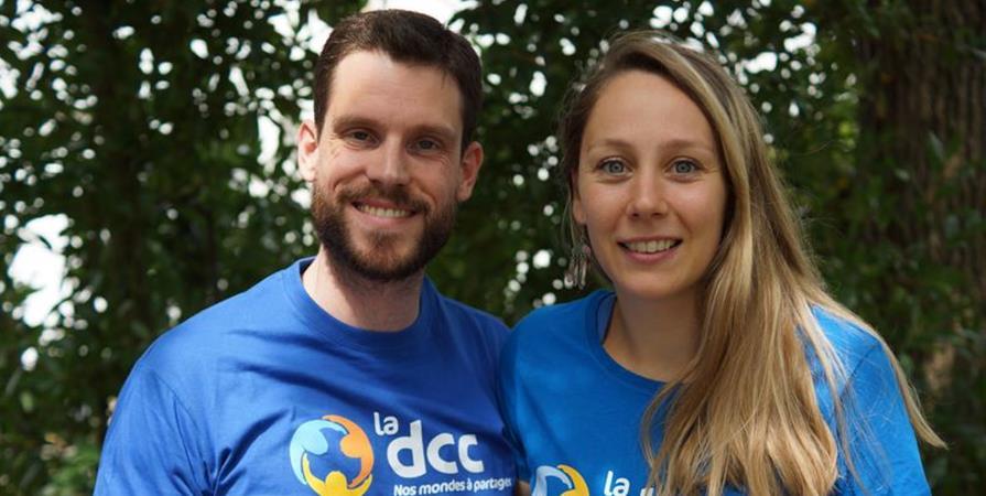 Johanna et Julien en Tanzanie - Délégation Catholique pour la Coopération