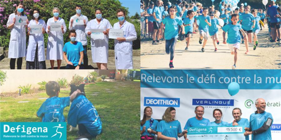 Defigena 2021 - Association Gaétan Saleün - Don du Sang et Recherche en Génétique