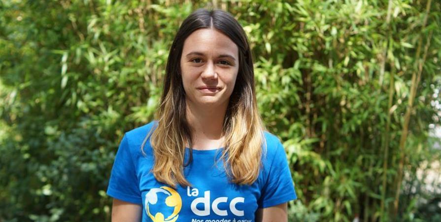Laure, formatrice d'enseignants en Haïti - Délégation Catholique pour la Coopération