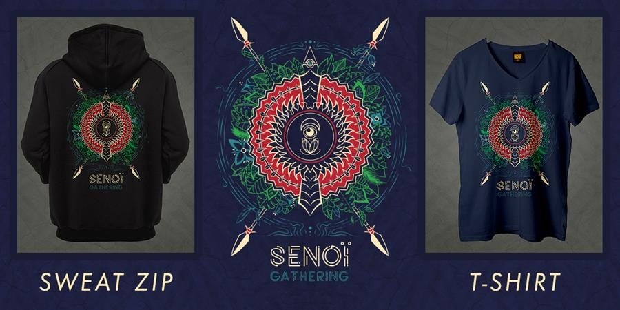 SENOÏ GATHERING : T-Shirt & Sweat [ Uniquement en pré-commande ] - Senoï Project