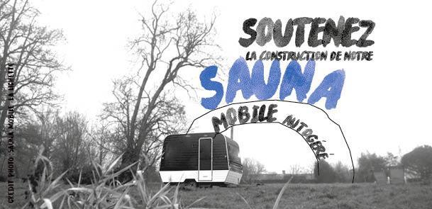 Un sauna mobile dans la montagne limousine - SPA ( sauna public autogéré)