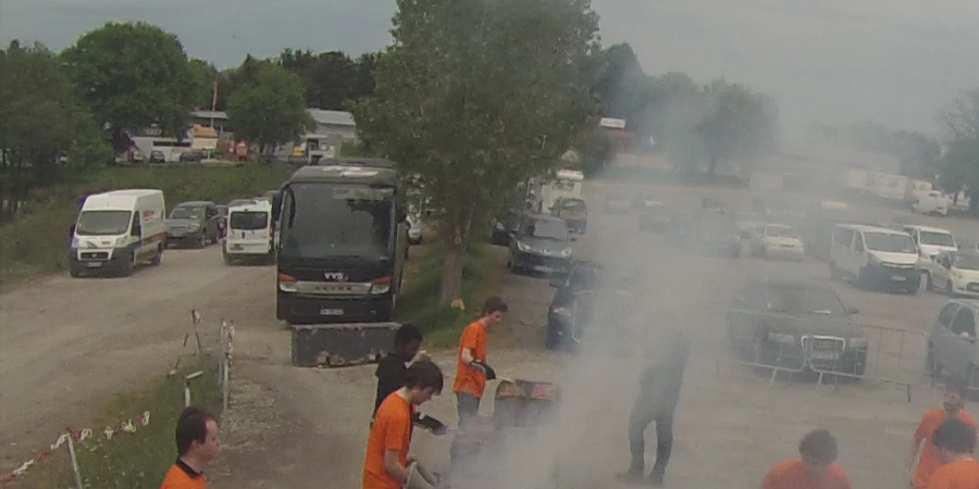 Barbecue coupe de France de robotique 2017 - Evolutek