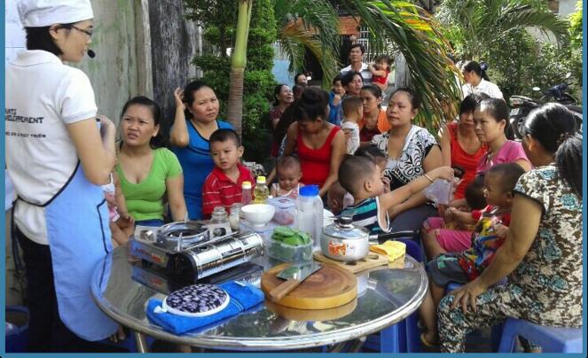 Accompagnement Familial au Vietnam - Projet 360°C - Planète Enfants & Développement