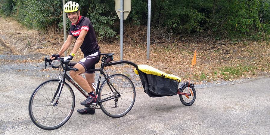 Voyage en France à vélo - Soutien à l'ARSLA contre la Maladie de Charcot (SLA) - ARSLA