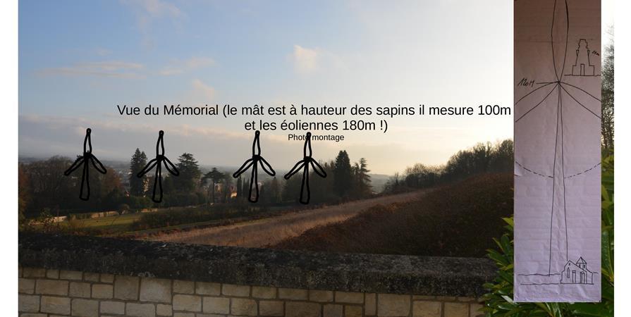 Opposition à la construction d'un parc éolien à Chasseneuil sur Bonnieure  (16)  - Charente Limousine Environnement
