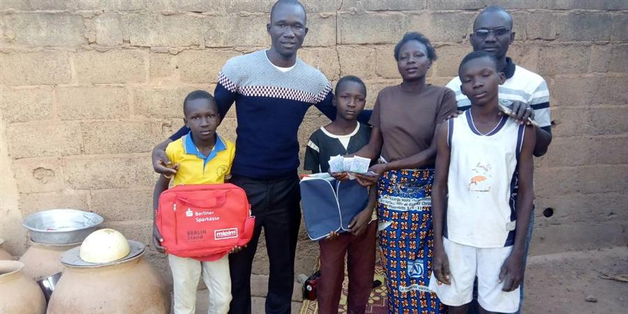 SCOLARITE POUR TOUS - pour des enfants orphelins au Burkina Faso - Le Choix- solidarité