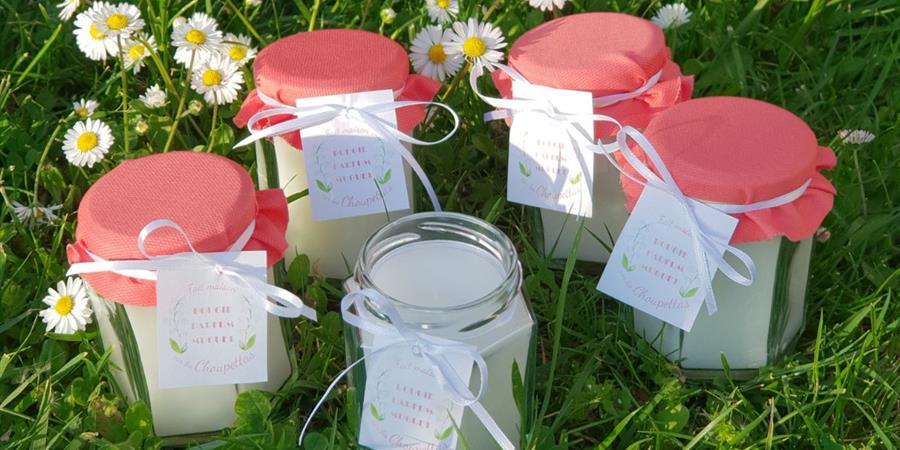 Vente de bougies au muguet faites maison - Les Choupettas