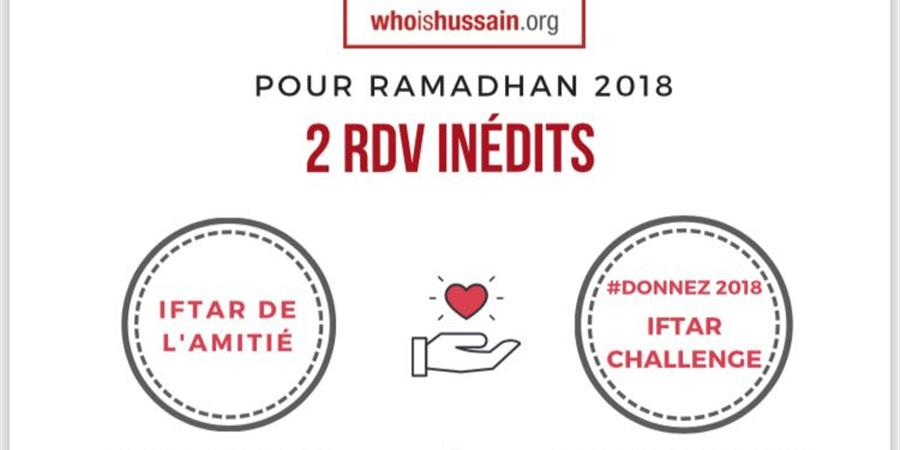 WIH Ramadhan 2018 : Distribution de Iftar Box   - Who is Hussain France